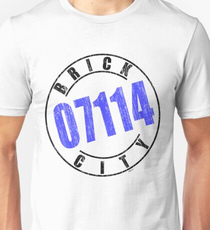'Brick City 07114' Unisex T-Shirt