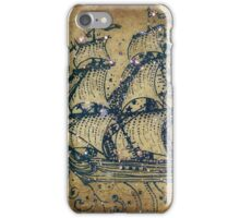 The Great Sky Ship iPhone Case/Skin