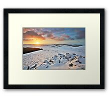 Sunrise Atop Higger Framed Print