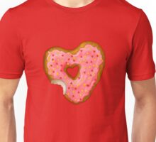 Donut Heart with Sprinkles  Unisex T-Shirt