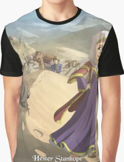 Hester Stanhope - Rejected Princesses Graphic T-Shirt