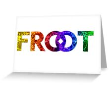 FROOT WAVES Greeting Card