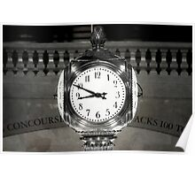 Grand Central Clock NYC Poster