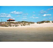 Beach Hut Photographic Print