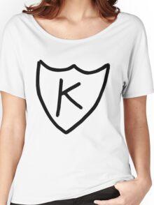 Kurt Cobain - K tattoo, K records  Women's Relaxed Fit T-Shirt