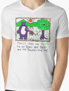 Earth Day Mens V-Neck T-Shirt
