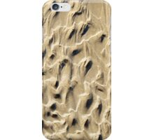 Sand structures iPhone Case/Skin