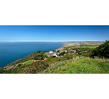 Blackgang and Chale Bay Panorama Photographic Print