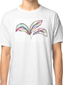 Rainbow Feathers Classic T-Shirt