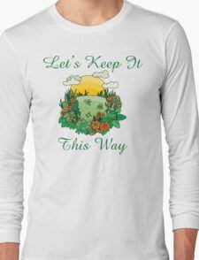 Earth Day Long Sleeve T-Shirt