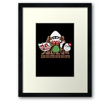 Blooper Sushi is what's for dinner Framed Print