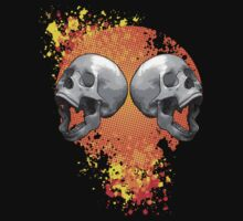 screaming skulls by IanByfordArt