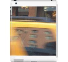 NYC taxi iPad Case/Skin