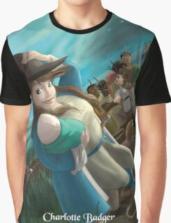 Charlotte Badger - Rejected Princesses Graphic T-Shirt
