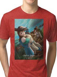 Charlotte Badger - Rejected Princesses Tri-blend T-Shirt