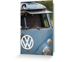 VW split screen camper van  Greeting Card