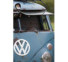 VW split screen camper van  Photographic Print