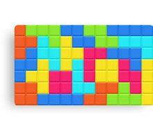Tetris HD Canvas Print