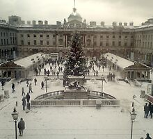 Somerset Square in the Snow by abiburt