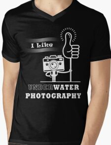 I Like Underwater Photography Mens V-Neck T-Shirt