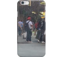 NYC bus ride home iPhone Case/Skin