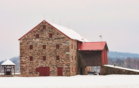 Romantic barn by Penny Rinker