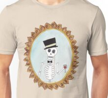 The Gentleman Skeleton Unisex T-Shirt