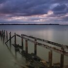 Old Jetty @ Cleveland Point by Joel Brown