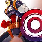 Cap'n America by rayme3000