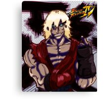 The Return of Violent Ken Canvas Print