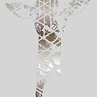 Silver Giraffe by Jessica Slater