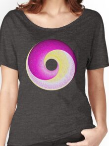 #DeepDream Color Circles Visual Areas 5x5K v1448901772 Women's Relaxed Fit T-Shirt