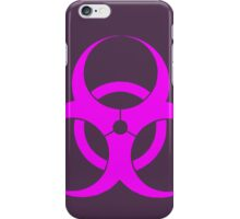 biohazard - organic, bio, hazardous, contaminated, environmentally iPhone Case/Skin