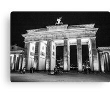 Brandenburg Gate - Berlin Canvas Print