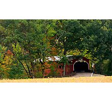 Wanich Covered Bridge_Columbia County Pennsylvania Photographic Print