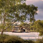 Captain Proud Paddle Steamer - Swanport, Murray Bridge, SA by Mark Richards