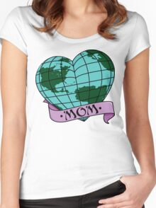 Earth Day Mother Earth Women's Fitted Scoop T-Shirt