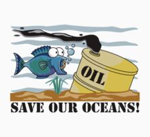 Earth Day Save Our Oceans by HolidayT-Shirts