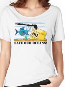 Earth Day Save Our Oceans Women's Relaxed Fit T-Shirt