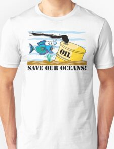 Earth Day Save Our Oceans Unisex T-Shirt