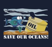 Save Our Oceans Earth Day Kids Clothes