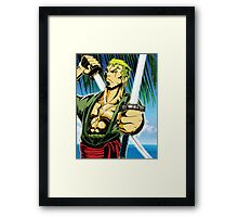 Zorro One Piece Framed Print