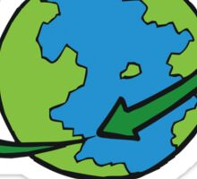 Earth Day Be Green Sticker