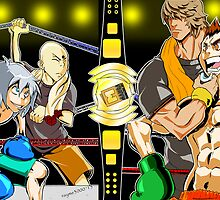 Pay-Per-View Event- Isao Vs BlueBrow!!!!!!!! by rayme3000
