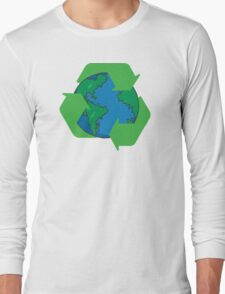 Recycle Earth Day Long Sleeve T-Shirt