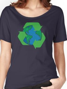 Recycle Earth Day Women's Relaxed Fit T-Shirt