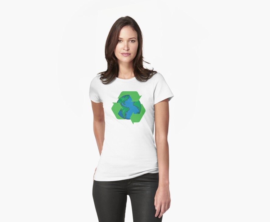 Recycle Earth Day by HolidayT-Shirts