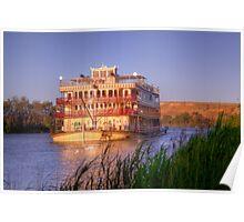 Murray River Princess - Sunnyside, Murray Bridge, SA Poster