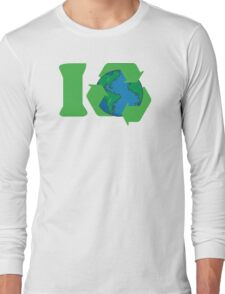 I Recycle Earth Day Long Sleeve T-Shirt