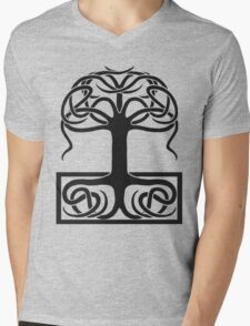 The World Tree, Yggdrasil Mens V-Neck T-Shirt